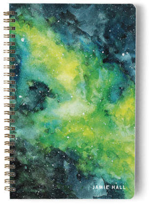 Amongst The Stars Day Planner, Notebook, or Address Book