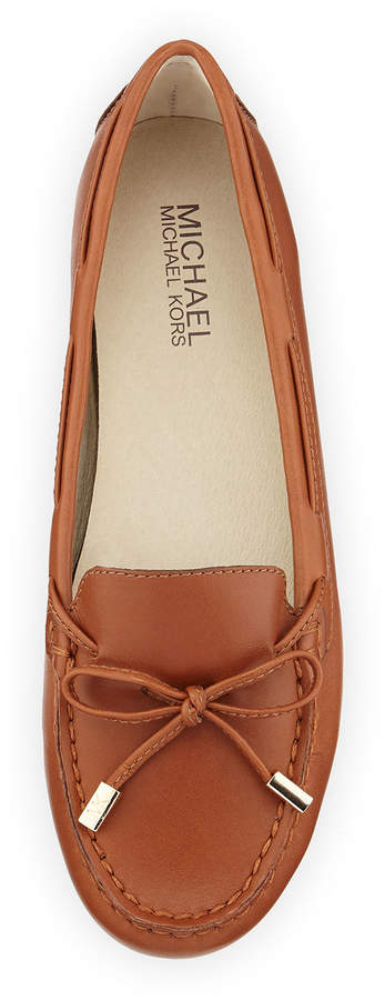 MICHAEL Michael Kors Daisy Leather Moccasin Loafer 3