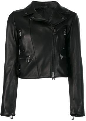 Sly 010 Sly010 cropped biker jacket