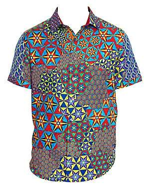 Robert Graham Men's Prism Printed Shirt