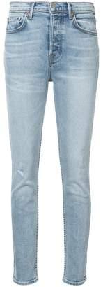 GRLFRND Karolina distressed skinny jeans