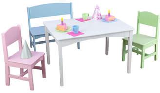 Kid Kraft Nantucket Kids 4 Piece Table and Chair Set Chair