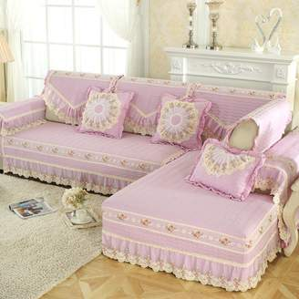 JIEJING Four Seasons Sofa Covers,All Sofa Cover Sofa Slipcover Simple Modern Faric Clean Sofa Slipcover Washale 1pc