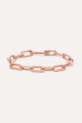 Monica Vinader Alta Capture Rose Gold Vermeil Charm Bracelet