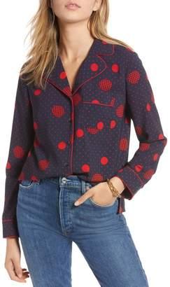 1901 Geometric Pattern Button Up Shirt