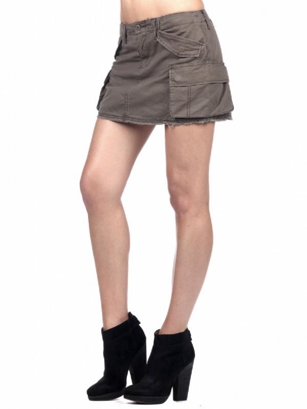 Blank NYC Utility Mini Skirt