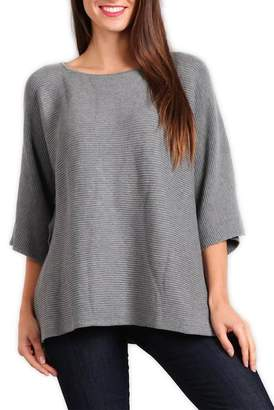 Boulevard Crew Neck Oversized Sweater