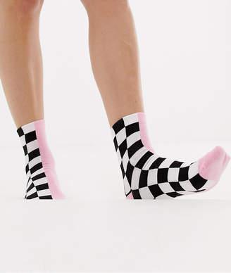 Asos DESIGN half and half motorcross socks