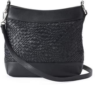 Leather Woven Hobo Bag - ShopStyle d3e7b40415065