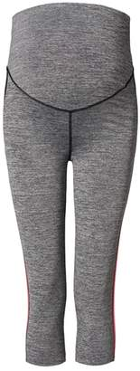 Noppies Over the Belly Stripe Crop Maternity Leggings