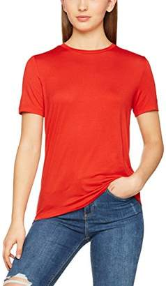 Pieces Women's Pcbillo Ss O-Neck Tee Solid Noos T-Shirt,(Manufacturer Size: Large)