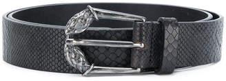 Just Cavalli snake effect belt