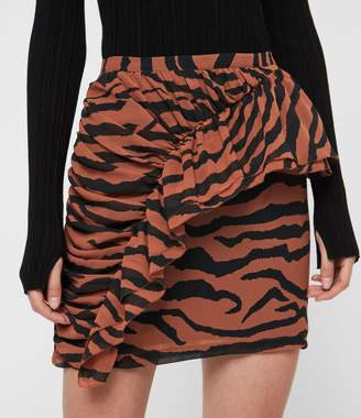 AllSaints Pia Zephyr Skirt
