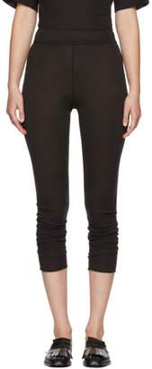 Raquel Allegra Black Signature Jersey Leggings