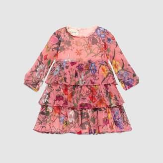 Gucci Baby mini Flora chiffon dress