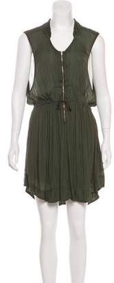 Isabel Marant Short-Sleeve Knee-Length Dress
