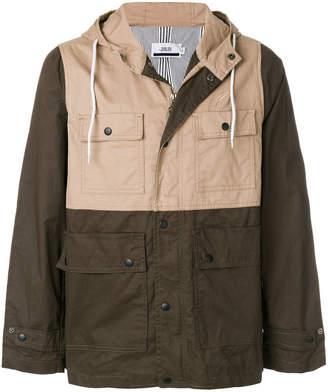 Publish multi-pocket hooded jacket