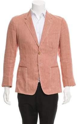 Paul Smith Striped Linen Blazer