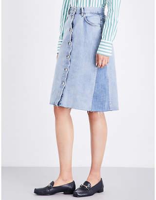 MiH Jeans Park denim skirt