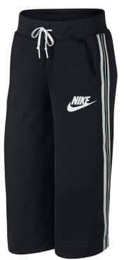 Nike Side-Stripe Wide-Leg Pants