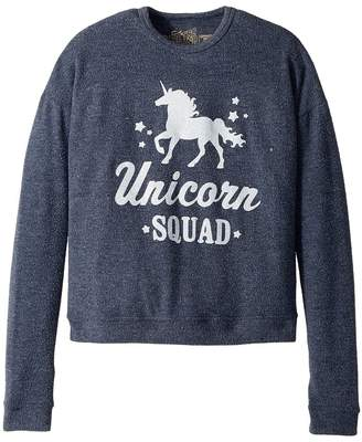 Original Retro Brand The Kids Unicorn Squad Super Soft Haaci Pullover Girl's Clothing