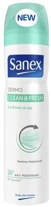 Sanex Dermo Clean & Fresh 24h Anti Perspirant 250ml