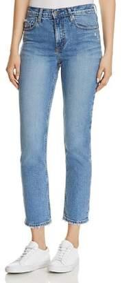 Nobody True Slim Ankle Jeans in Truthful