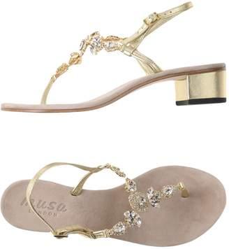 Musa London Toe strap sandals - Item 11454304