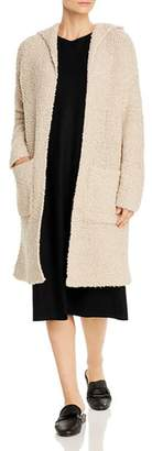 Eileen Fisher Hooded Long Cardigan