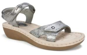 White Mountain Cliffs by Charlee Ankle Strap Comfort Sandals Women's Shoes