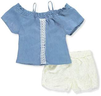 Dollhouse Big Girls' 2-Piece Short Set Outfit