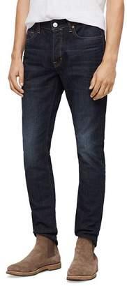 AllSaints Rex Straight Slim Jeans in Dark Indigo