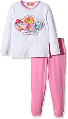 Nickelodeon Girl's Paw Patrol Best Puppies Long Sleeve Pyjama Set,(Manufacturer Size:)