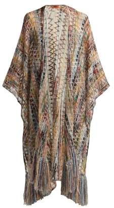 Missoni Striped Crochet Knit Wrap - Womens - Multi