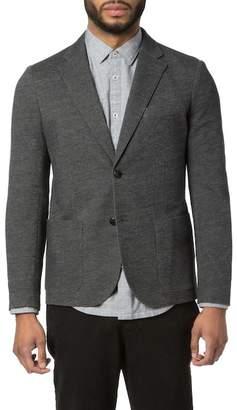 Good Man Brand Vintage Chambray Two Button Notch Collar Soft Blazer