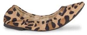 BCBGeneration Madeline Leopard-Print Ballet Flats