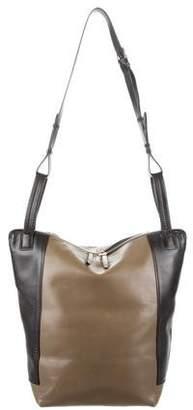 Balenciaga Bicolor Leather Shoulder Bag