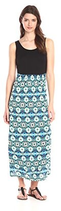 Kensie Women's Hand Painted Tile Dress $69 thestylecure.com