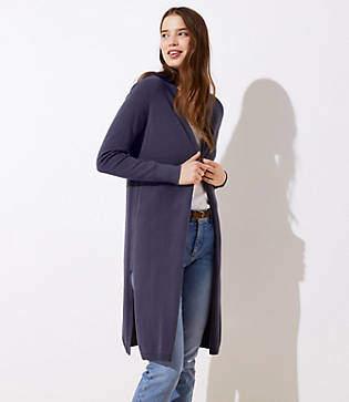 29b29fc53b Jacquard-Stripe Pima Duster Sweaters