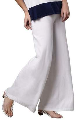 Minnie Rose CLASSIC PALAZZO PANT $200 thestylecure.com