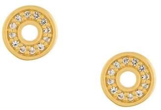 Astley Clarke 'Mini Open Halo Biography' stud earrings