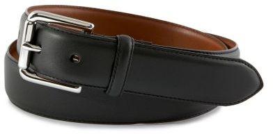 Polo ralph lauren leather dress belt