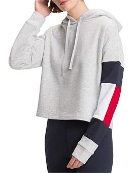 Tommy Hilfiger Athleisure Injection Cropped Hoodie