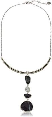 The Sak Multi-Stone Y-Shaped Necklace