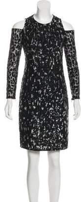 Michael Kors Sequined Knee-Length Dress