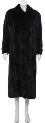 Christian Dior Long Mink Coat