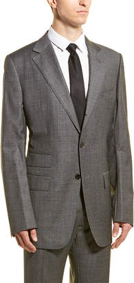 Tom Ford Wool Suit With Flat Front Pant