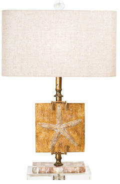 Couture Couture, Inc. Coastal Retreat Ponte Vedra Starfish 24.5 Table Lamp