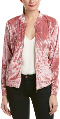 Tart Collections Velvet Bomber Jacket