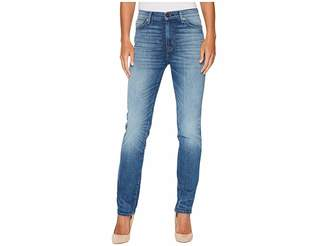 Hudson Zoeey High-Rise Straight in Can't Stop Women's Jeans